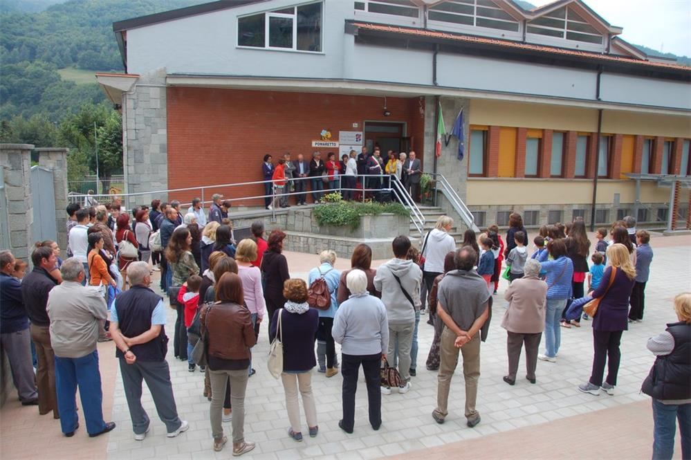Inaugurazione lavori scuole elementari